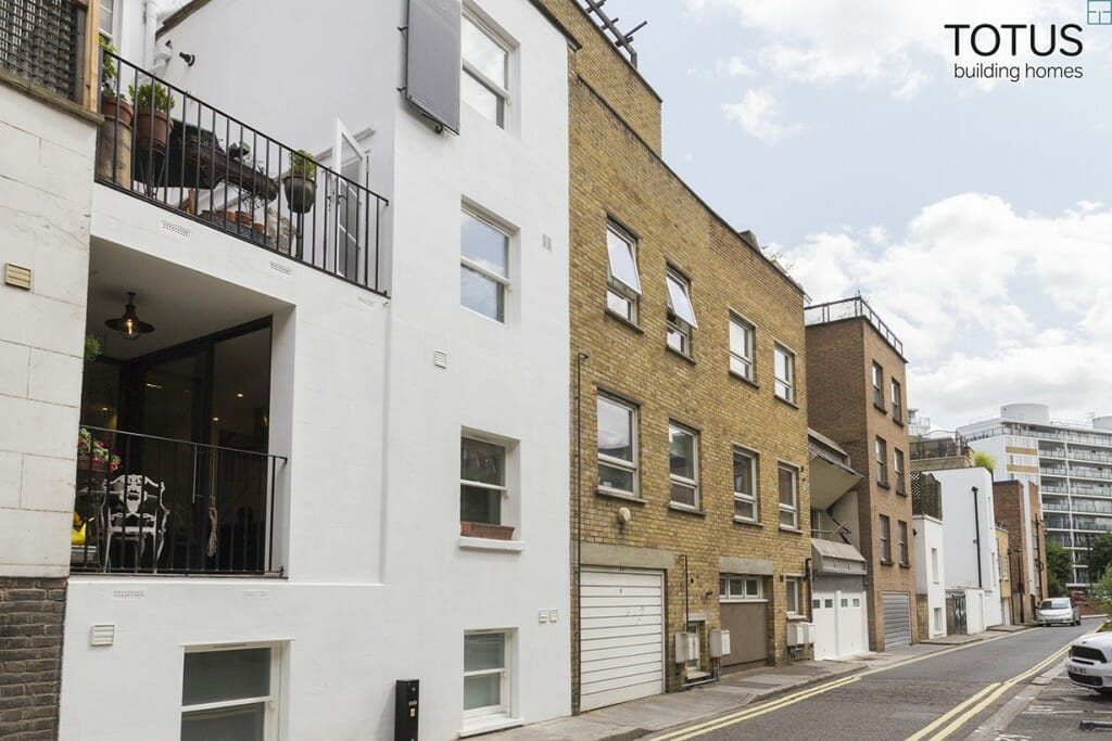 Extension and renovation, Pimlico SW1V